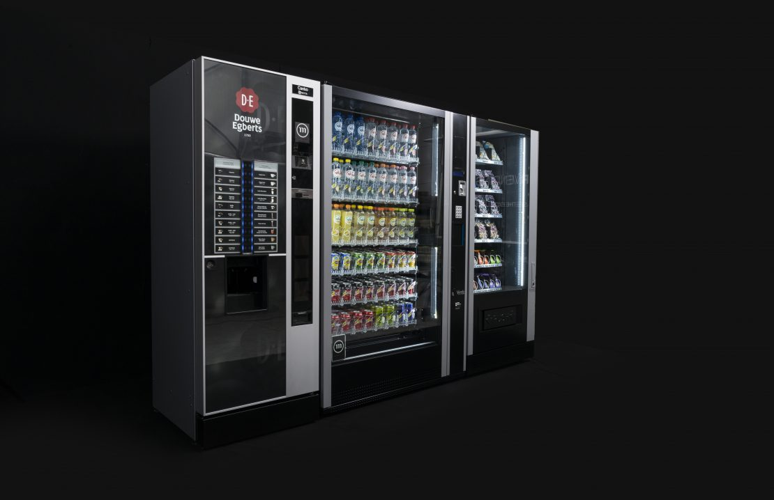 Coffee snack soda machine